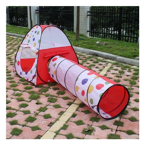 Agptek® Kids Outdoor Indoor Pop Up Play Tent With Tunnel