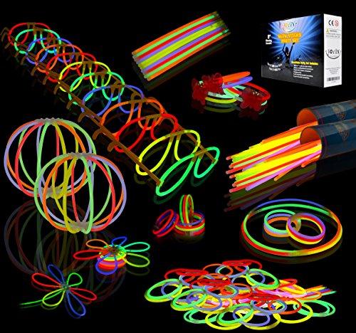 Joyin-Toy-200-8-Glowsticks-Glow-Stick-Bracelets-Glow-Necklaces-Party-Favors-Pack-Total-456-PCs