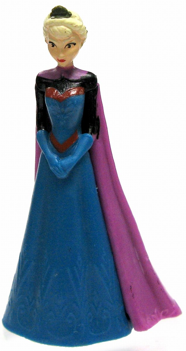 disney frozen elsa figurine in coronation gown ebay