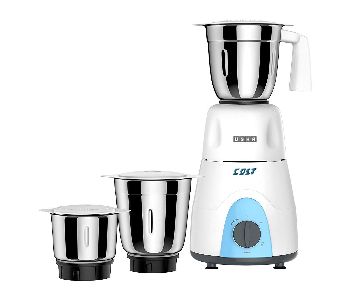 Usha MG3053 500-Watt Mixer Grinder with 3 Jars (White) By Amazon @ Rs.1,799