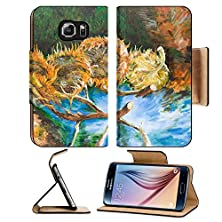 buy Msd Samsung Galaxy S6 Flip Pu Leather Wallet Case Oil Painting Illustrating A Replica Of A Famous Painting Made By Vincent Van Gogh Image 22878564