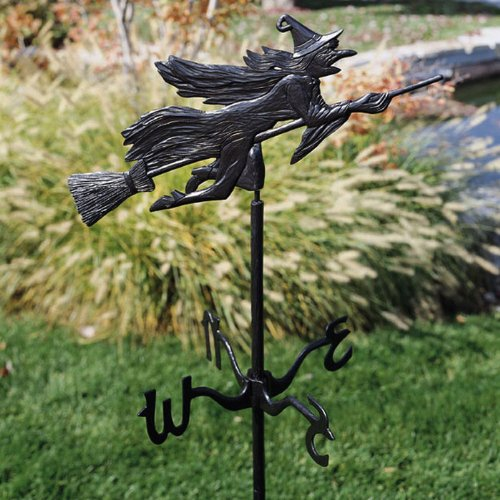 Spooky Witch Weathervane