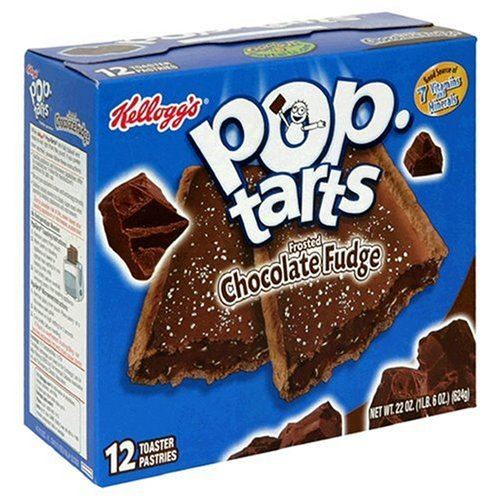 Buy Kellogg's Pop-Tarts Frosted Chocolate Fudge, 22-Ounce, 12-Count Boxes (Pack of 12) (Pop-Tarts, Health & Personal Care, Products, Food & Snacks, Breakfast Foods, Toaster Pastries)