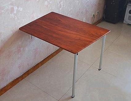 ZXLDP Escritorio De La Computadora Mesa De Aprendizaje Mesa De La Pared Mesa De Comedor Plegable Tabla De La Oficina Tamaño Opcional ( Tamaño : B-74cm*40cm*74cm )