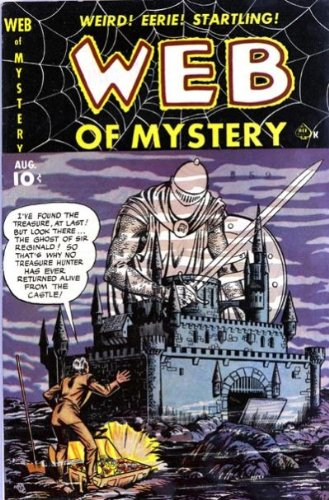 Web of Mystery - 4 cover