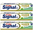 Signal dentifrice integral 8 fresh naturals 75 ml - Lot de 3