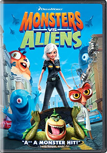 DVD : Monsters Vs. Aliens [Widescreen] (, Dubbed, Dolby, AC-3, Widescreen)