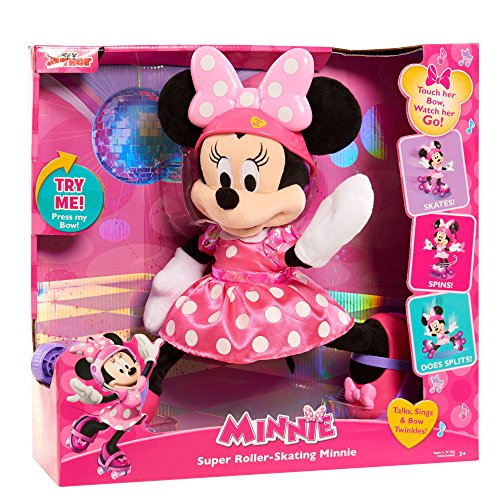 JUSUB Super Roller Skating Minnie Plush JungleDealsBlog.com