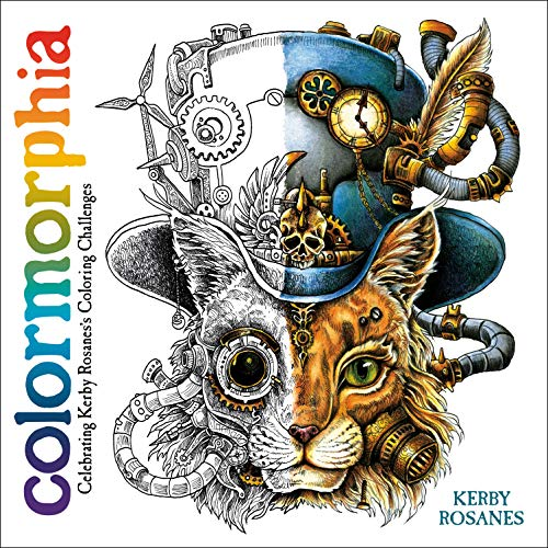 Colormorphia Celebrating Kerby Rosaness Coloring Challenges [Rosanes, Kerby] (Tapa Blanda)