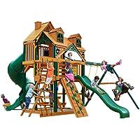 Gorilla 01-0047 Malibu Deluxe I Swing Set