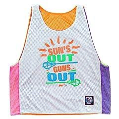 Suns Out Guns Out Lacrosse Sublimated Reversible