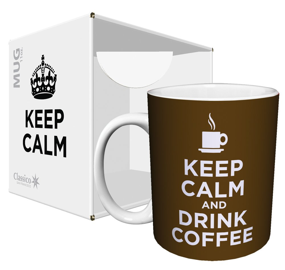 Keep Calm and Drink Cofee Quotes