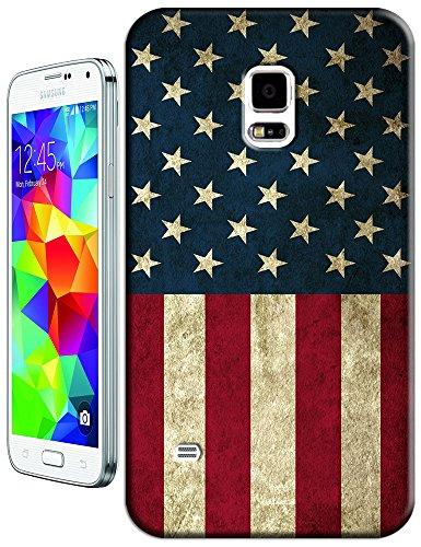Sangu The American Flag Normal Retro Hard Tpu Samsung Galaxy S5 Case
