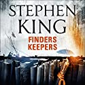 Finders Keepers Audiobook by Stephen King Narrated by Will Patton