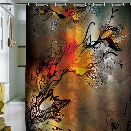 DENY Designs Iveta Abolina Before The Storm Shower Curtain, 69 by 72