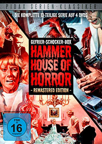Gefrier-Schocker-Box: Hammer House of Horror - Remastered Edition / Die komplette 13-teilige Horror-Kultserie (Pidax Serien-Klassiker) [4 DVDs]