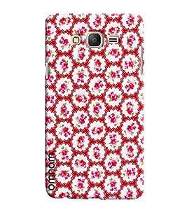 Omnam Pink Flower Pattern Printed Designer Back Cover Case For Samsung Galaxy On 5