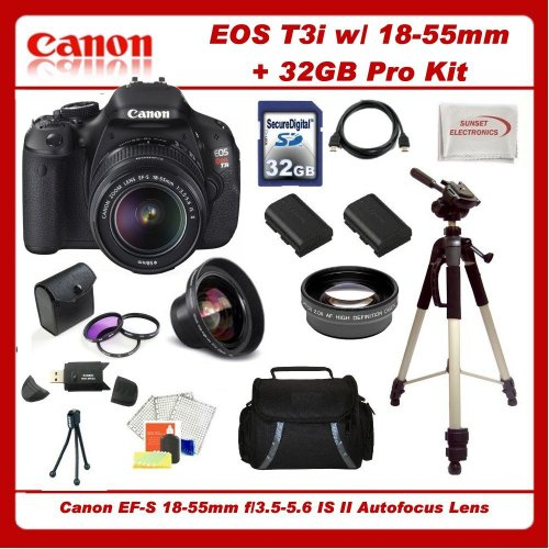 Canon EOS Rebel T3i SLR Digital Camera Kit