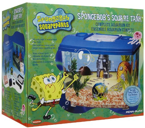 SpongeBob SquarePants® Jellyfishin' Aquarium Kit, 4 Gallon Tank w/Filter