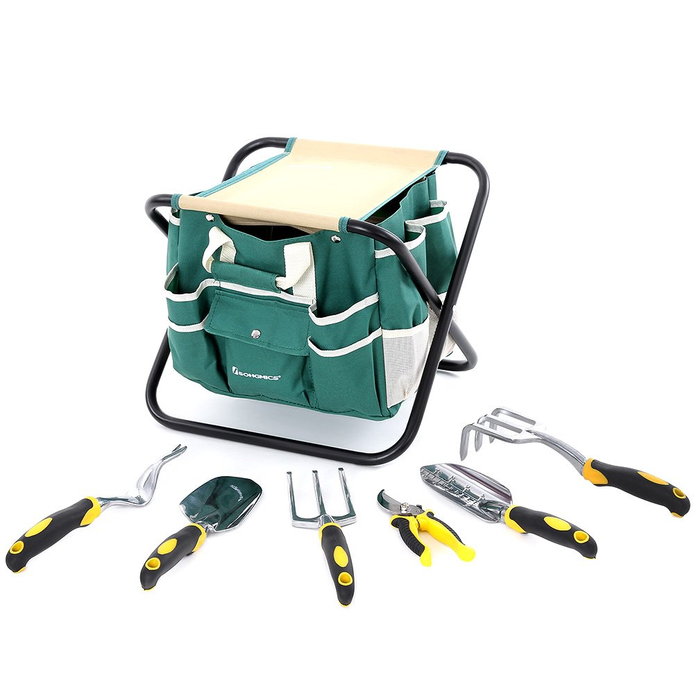 Songmics 8 Piece Garden Tool Set