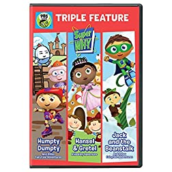 Super WHY!: Triple Feature: Humpty Dumpty, Hansel & Gretel, and Jack and the Beanstalk DVD