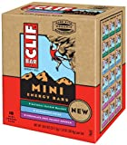 Clif Bar Mini Energy Bar, Variety Pack (6 Chocolate Chip Peanut Crunch, 6 Oatmeal Raisin Walnut, 6 Blueberry Crisp), 18 Count