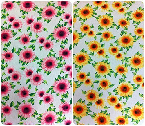 big-sunflower-pattern-on-stretch-bulgari-knit-jersey-polyester-spandex-fabric-by-the-yard-yellow-by-