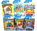 2013 Hot Wheels - Superman - Kroger Exclusive (6 Car Set)