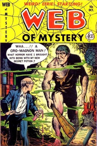 Web of Mystery - 5 cover