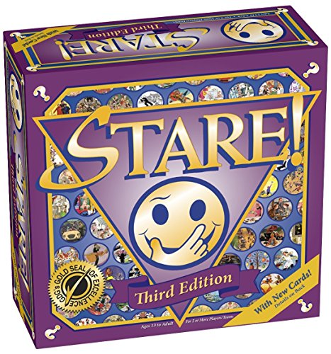Stare! Board Game - 3rd Edition - 61ir4c6ubKL - Stare! Board Game – 3rd Edition