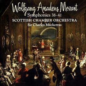 Mozart Symphonies 38-41