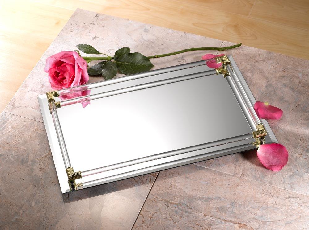 Mirrored Serving Tray пальто алонзо d'imma fashion studio