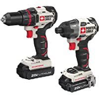 Porter Cable 20V MAX 2 -Tool Lithium Drill/Impact Driver