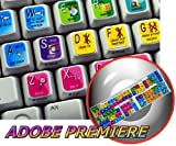 NEW ADOBE PREMIERE STICKERS FOR KEYBOARD