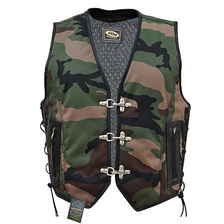 Textile Biker Gilet camouflage (L)