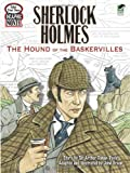 Image of Color Your Own Graphic Novel SHERLOCK HOLMES: The Hound of the Baskervilles (Dover Classic Stories Coloring Book)