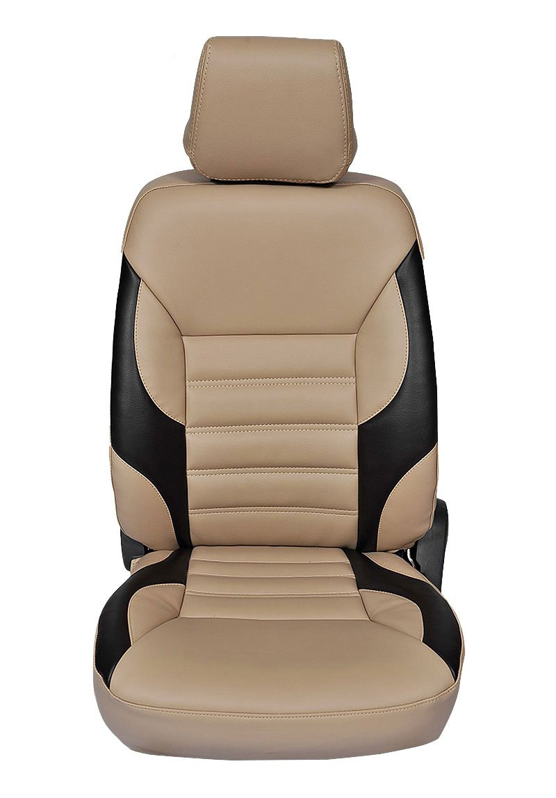Autofurnish CZ 121 Soul Beige Leatherite Seat Covers For