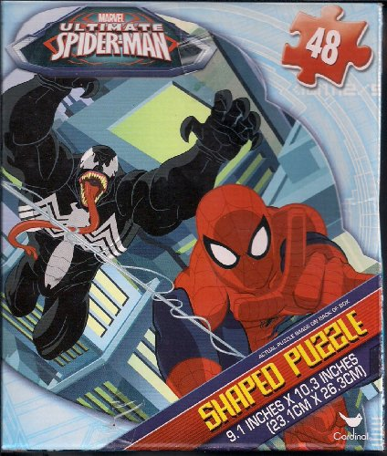 Ultimate SPIDERMAN & VENOM 48 pc SHAPED PUZZLE