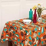 Chumbak Fruits Cotton Table Cloth - Multicolor