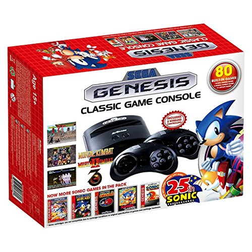 SEGA Genesis Classic Game Console with Build in Games