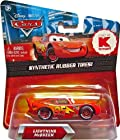 Disney Pixar Cars Exclusive LIGHTNING McQUEEN with SYNTHETIC RUBBER TIRES