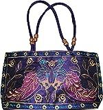 Czds India Women's Blue Handbag (BAG-46)