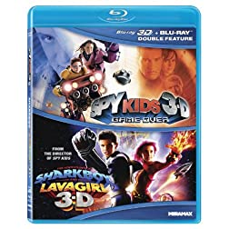 Spy Kids 3-D: Game Over / Adventures of Sharkboy [Blu-ray]