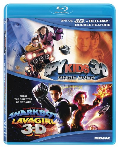Spy Kids 3-D: Game Over / Adventures of Sharkboy [Blu-ray] [Import]