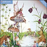 Fairyland 2012 Wall Calendar (Glittered On Every Page)