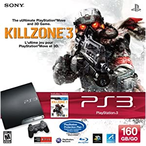 PS3 160 GB Killzone 3 Bundle