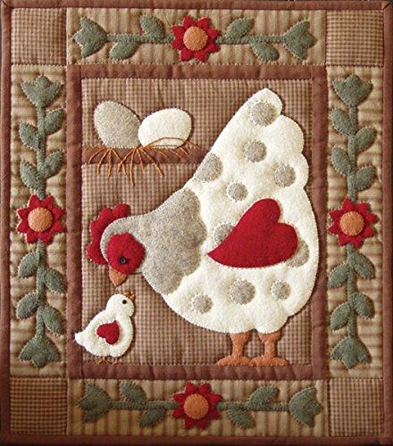 Rachel's Of Greenfield Spotty Hen Quilt Kit-13