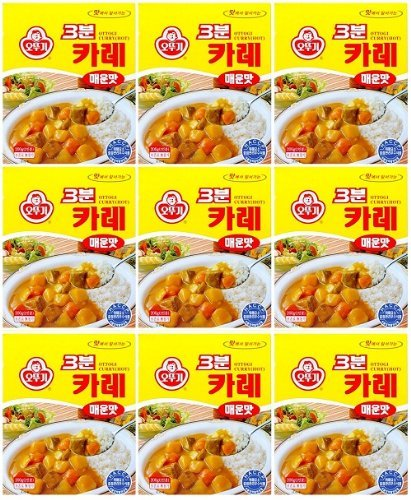 ottogi-3-minute-curry-spicy-flavor-product-of-korea-67-oz-each-9-packs