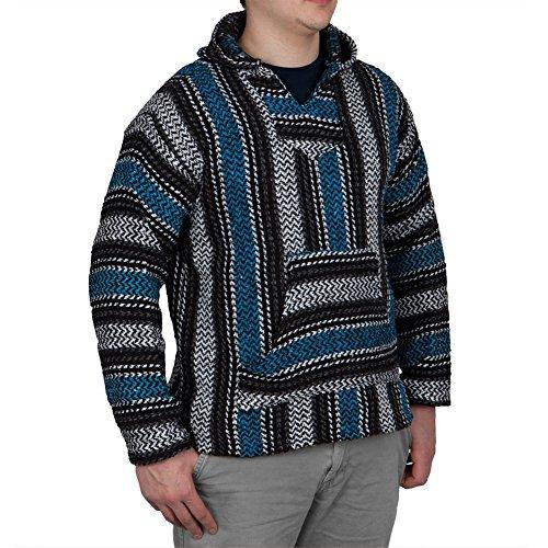 baja-joe-striped-woven-eco-friendly-jacket-coat-hoodie-turquoise-medium