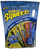 Sqwincher Sqweeze 159200222 Assorted Flavors Freezer Pop, 3 oz Serving Size (Pack of 20)